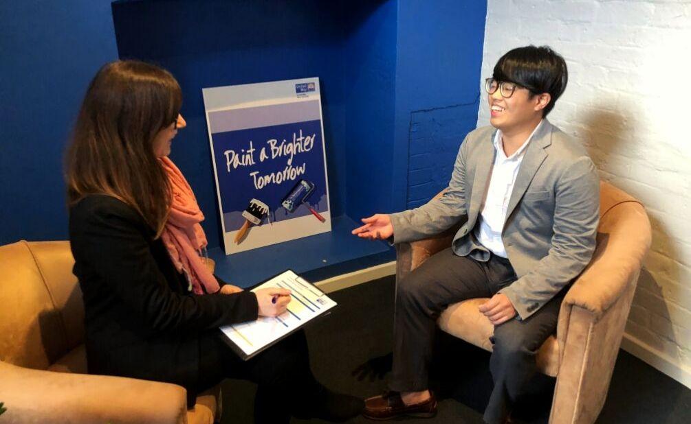 Marcel Chen first interview mentoring